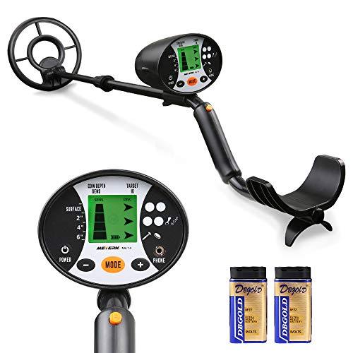 Meterk Underground Metal Detector, High Sensitivity Handheld Metal Detector