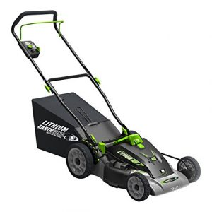 Earthwise 18-Inch 40-Volt Lithium Ion Cordless Electric Lawn Mower