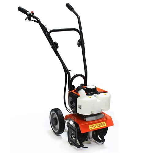 XtremepowerUS Commercial 55CC Tiller Cultivator 2-Cycle Gas