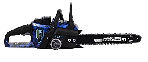 Zombi 16-Inch 58-Volt 4Ah Lithium Cordless Electric Chainsaw