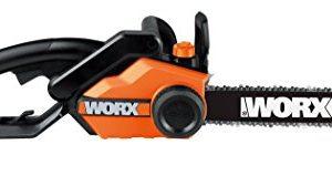 "WORX WG303.1 Powered Chain Saw, 16"" Bar Length, red"