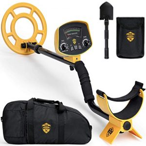 ToolGuards Metal Detector with Carry Bag & Shovel