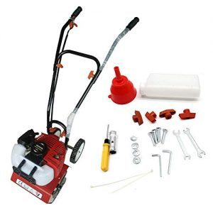 Wanlecy Upgarded Mini Garden Tiller Cultivator