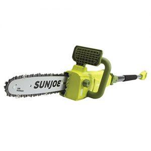 Sun Joe 10 inch 8.0 Amp Electric Convertible Pole Chain Saw