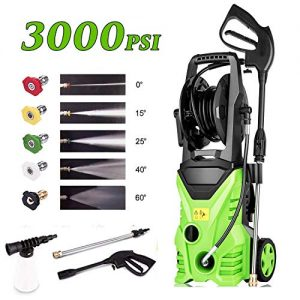 Homdox 3000 PSI 1.80 GPM Electric Pressure Washer, 1800W