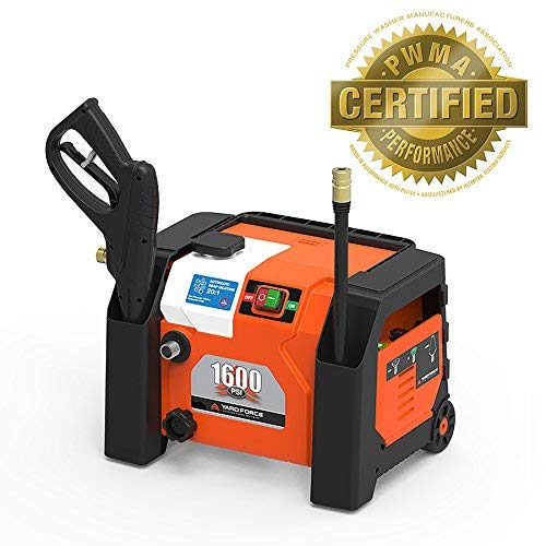 YARD FORCE 1600 PSI All-in-1 Electric Pressure Washer