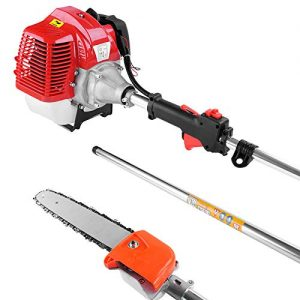 """Telescopes from 4' to six' 13"""" straight arborist blade for simple cuts with precision management The straight blade makes it simpler to get the blade proper the place you need it in dense conditions"""