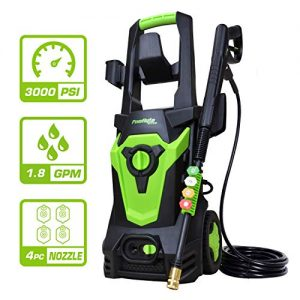 PowRyte Elite 3000 PSI 1.80 GPM Electric Pressure Washer