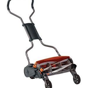 Fiskars StaySharp Max Reel Mower, 18 Inch, Black