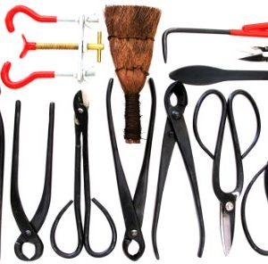 Stanwood Bonsai Tool 14-Piece Carbon Steel Shear Set