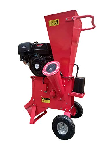 15HP 420CC Gas Powered Wood Chipper Shredder Mulcher