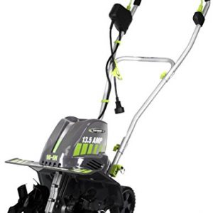Earthwise 16-Inch 13.5 Amp Corded Electric Tiller/Cultivator, Grey