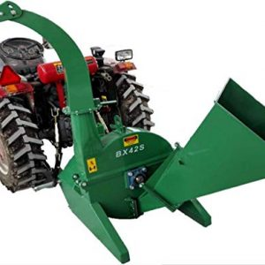 "4""x10"" PTO Tractor Wood Chipper Shredder 540-1000 RPM"