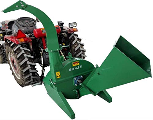 "4""x10"" PTO Tractor Wood Chipper Shredder 540-1000 RPM"