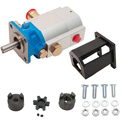 ToolTuff Log Splitter Build Kit: 16 GPM Pump, Coupler, Mount, Bolts
