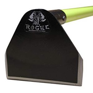 "Prohoe Rogue Flat Head Garden Hoe, 60"" Fiberglass Handle"