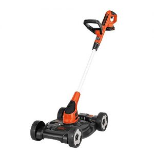 BLACK+DECKER 12-Inch 20V MAX Lithium Cordless 3-in-1 Trimmer