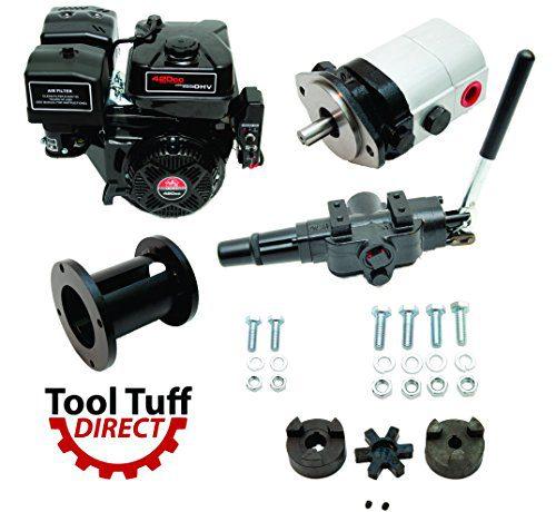 Tool Tuff Log Splitter Build Kit - 15 hp Electric-Start Engine