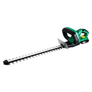 DEKO Cordless Hedge Trimmer 20V Lithium 2000mAh Quick Charge