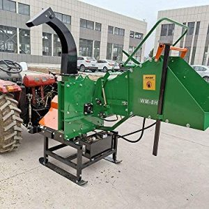 Wood Chipper Tractor Attachment 3 Point PTO Cutter Mulcher Shredder