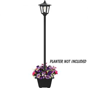 68'' Solar Lamp Post Lights Outdoor, Solar Powered Vintage Street Lights for Lawn