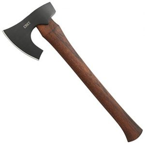 CRKT Freyr Tactical Axe: Outdoor Axe with Deep Beard Design