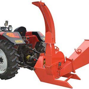 Wood Chipper Tractor Attachment 3 Point PTO Cutter Leaf Mulcher Shredder