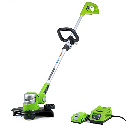 Greenworks 12-Inch 24V Cordless String Trimmer/Edger