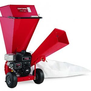 Craftsman Gas Powered 3-inch Wood Chipper Shredder