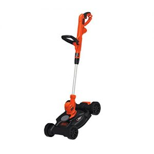 BLACK+DECKER 3-in-1 Electric Lawn Mower, String Trimmer & Edger