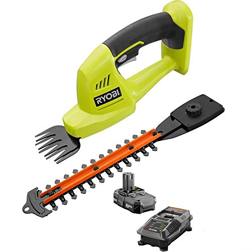 Ryobi ONE+ 18-Volt Lithium-Ion Cordless Grass Shear and Shrubber Trimmer