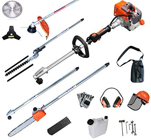 5 in 1 Trimming Tools, Multi Functional Sets Gas Hedge Trimmer