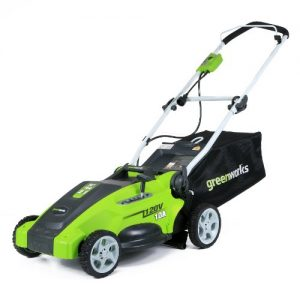 Greenworks 16-Inch 10 Amp Corded Electric Lawn Mower