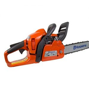 Husqvarna 18 Inch 40.9cc 2.4HP 2 Cycle Gas Chainsaw (Renewed)