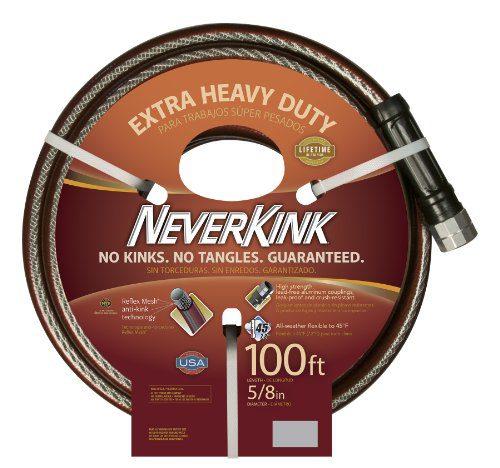 Teknor Apex NeverKink , Extra Heavy Duty Garden Hose