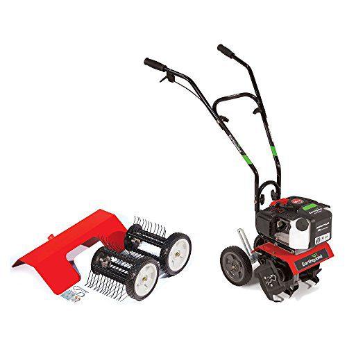Earthquake Cultlivator Lawn Garden Gas Tiller w/Dethatcher Attachment Kit