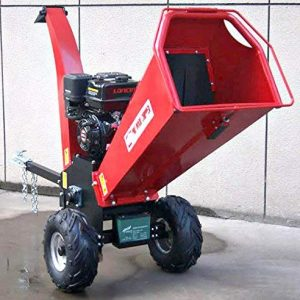 15HP Gasoline Powered Wood Chipper Shredder Mulcher