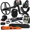 Garrett AT MAX Metal Detector with MS-3, Pro-Pointer AT Z-Lynk