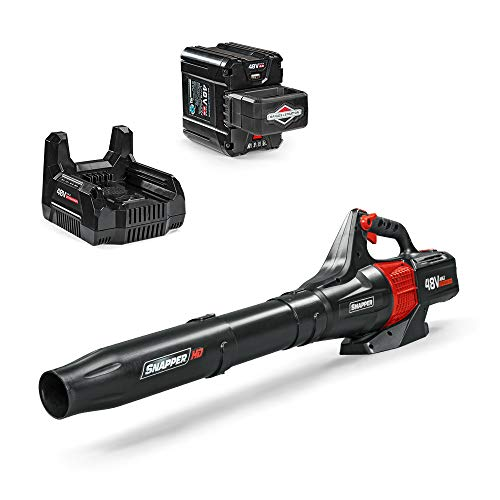 Snapper HD 48V MAX Electric Cordless CFM Leaf Blower Kit