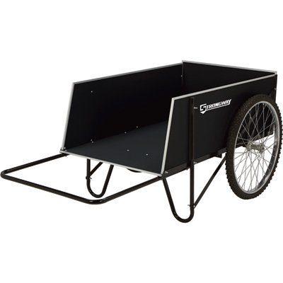 Strongway Yard Cart - 49 1/4in.L x 31in.W, 400-lb
