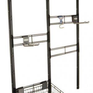 Suncast Bracket, Hooks, Basket Kit - Closet System for Mounting in Suncast Sheds