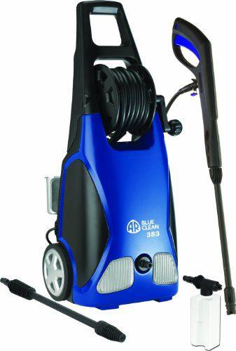 AR Blue Clean ,900 PSI Electric Pressure Washer, Nozzles, Spray Gun