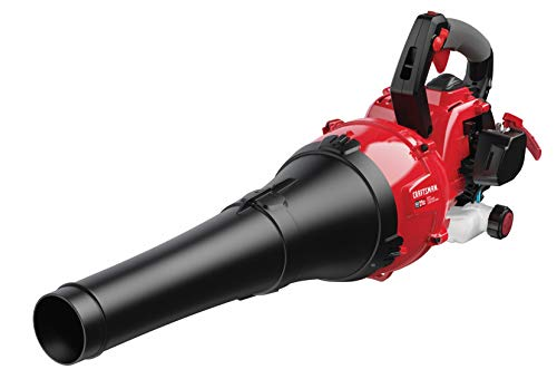Craftsman 27cc, 2-Cycle Full-Crank Engine Mixed-Flow Gas Powered Leaf Blower