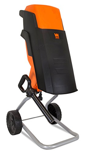 WEN 15-Amp Rolling Electric Wood Chipper and Shredder