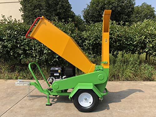 Nova Tractor Wood Chipper Shredder , Driven by 420cc Briggs & Stratton