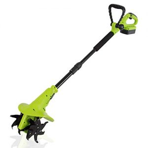 18V Handheld Electric Cordless Tiller - Battery Powered