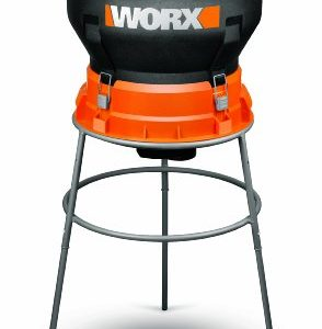 WORX 13 Amp Foldable Bladeless Electric Leaf Mulcher