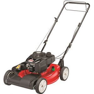 Yard Machines 21-Inch Self-Propelled Front-Wheel Drive Gas Lawn Mower