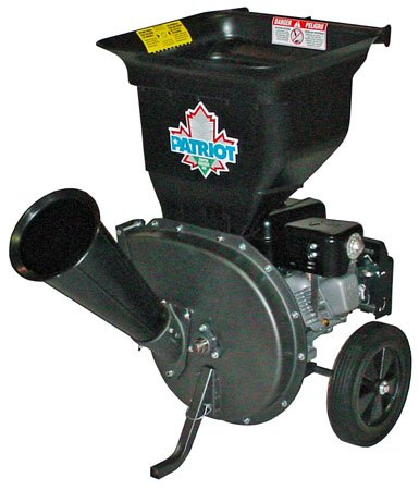 Patriot Products 6.5 HP Briggs & Stratton Gas Powered Wood Chipper