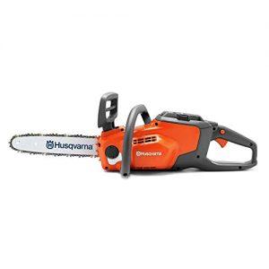 Husqvarna 120i Cordless Electric Chainsaws, Orange/Gray